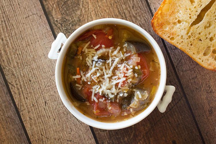 Whole Foods Eggplant Parmesan Soup